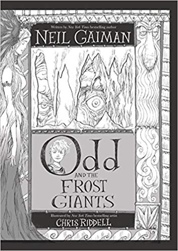 Book cover of Odd and the Frost Giants