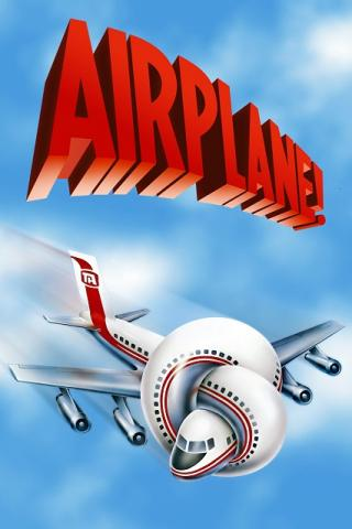 movie poster for Airplane